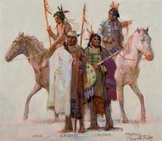 The Algonquin Family by Kenneth Riley