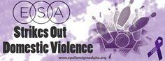 Help ESA Strike Out Domestic Violence. Get Involved: http://goo.gl/zLB94
