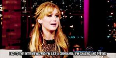 I wish I was as witty as this woman - The 25 Best Jennifer Lawrence Quotes Of 2012