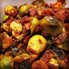 Instant Pot Bangin' Brussels Sprouts: So freaking good! Omitted the almonds and halved sesame oil. Spicy enough without the cayenne or pepper flakes Instant Pot Pressure Cooker, Pressure Cooker Recipes, Pressure Cooking, Slow Cooker, Pressure Pot, Crockpot Recipes, Cooking Recipes, Healthy Recipes, Keto Recipes