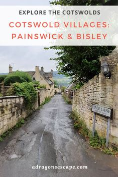 Three key villages to visit in the Cotswolds are Painswick, Bisley and Slad. Located near Stroud, these villages combine Cotswold charm with arresting landscapes. Painswick and Bisley also offer quaint streets, chocolate-box Cotswold cottages and scenic country lanes. Find things to do in Painswick, Bisley and Slad!  Follow @adragonsescape for more travel inspiration in the Cotswolds and beyond.  #CotswoldsEngland #UKTravel #ThingsToDo Cotswold Cottages, Cotswold Villages, England Top, Walk In Bath, Forest Of Dean, Britain Uk, Top Place, English Countryside, Chocolate Box