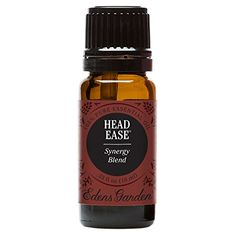 Head Ease Synergy Blend Essential Oil by Edens Garden- 10 ml (Comparable to DoTerra's PastTense)