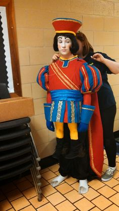 Dawn Sewing and Crafts: Lord Farquaad Wedding costume completion, dress rehearsal Lord Farquaad Costume, Shrek Costume, Rehearsal Dress, Wedding Costumes, Dawn, Harajuku, Musicals, Sewing, Crafts