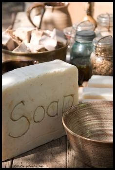 . . . nice photo ~ now I want to make more soap . . .