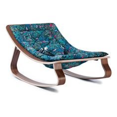 Walnut Levo baby rocker - Jazz Little Cabari Charlie Crane Baby- A large selection of Design on Smallable, the Family Concept Store - More than 600 brands.