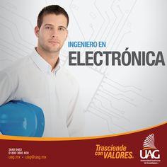 Como Ingeniero en Electrónica serás un profesional en el campo de la electrónica con preparación teórica y metodológica, capaz de aportar propuestas y soluciones viables e innovadoras a los problemas tecnológicos que enfrenta el país.