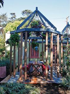 Colorful Gazebo - Home and Garden Design Ideas