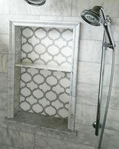 https://www.tilebuys.com/products/marrakech-arabesque-carrara-white-thassos-waterjet-marble-mosaic Luxury Waterjet Mosaic Marrakech Arabesque. White T... - Tilebuys - Google+