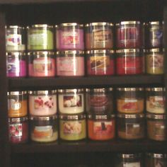 My Bath and Body Works candle obsession!