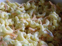 Dave's Tasty Macaroni Salad - Lovefoodies hanging out! Tease your taste buds! Easy Macaroni Salad, Macaroni Pasta, Pasta Salad Recipes, Macaroni And Cheese, Gf Recipes, Cooking Recipes, Free Recipes, Summer Food Kids, Salads