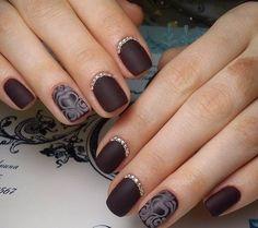 30 Deliciously Creative Chocolate Nail Designs - Wild About Beauty Love Chocolate, Chocolate Lovers, Wild About Beauty, Dark Nails, Stylish Nails, Cool Nail Art, Nail Colors, Nailart, Hair Makeup