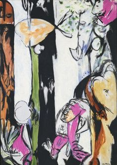 Jackson Pollock. Easter and the Totem. 1953