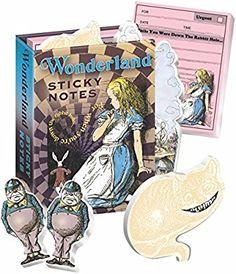 Wonderland Sticky Notes Booklet