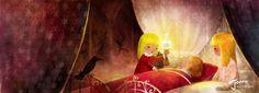 çizgili masallar: The Snow Queen by Cho Yong-Joon
