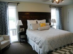DIY-tall-rustic-wooden-headboards-for-king-beds