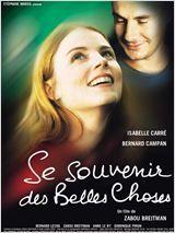 Se souvenir des belles choses avec Isabelle Carré et Bernard Campan