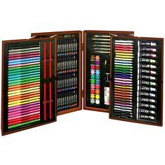215 Piece #Art Set #kids #gift #painter toolbox or #gadget