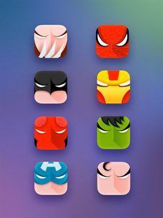 Superheros by Artua