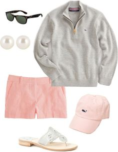perfect preppy summer night outfit