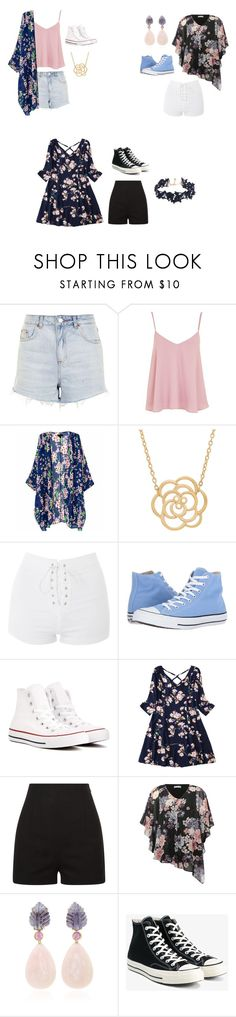 """""""Untitled #81"""" by nidha-h-mansoor on Polyvore featuring Topshop, Lord & Taylor, Converse, La Perla, M&Co and Vanessa Mooney"""