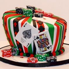 My Poker Cake by Cup a Dee Cakes