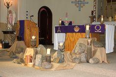 lenten decorations for church - Google Search