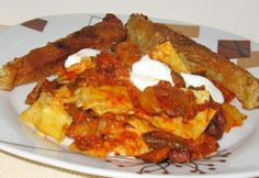 Ponty dorozsmai módon Hungarian Recipes, French Toast, Bacon, Food And Drink, Sweets, Chicken, Cooking, Breakfast, Main Courses