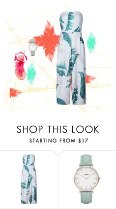 """""""Untitled #716"""" by aschwing ❤ liked on Polyvore featuring CLUSE and Aquazzura"""