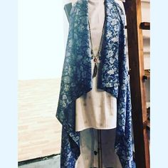 Have to say I love this ensemble regram from dress by waistcoat by Handmade Design, Repurposed, Kimono Top, Designers, Cozy, Jewellery, Shopping, Dresses, Women