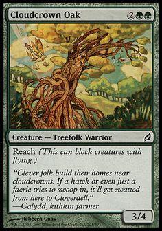 Cloudcrown Oak (Lorwyn)
