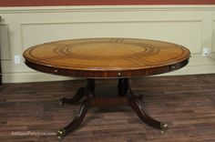 Round Table Expands To Seat 8 - So you searching for the best dining table to really go into that new condo you rented? Or you need a new fashionable bit Large Round Dining Table, New Condo, Table Seating, Best Dining, Home Goods, Room, Maitland Smith, House, Furniture