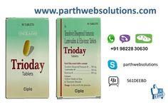 Trioday (Efavirenz, Lamivudine, Tenofovir Tablets)