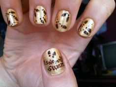 Marauders Map NAILS! obsessed.