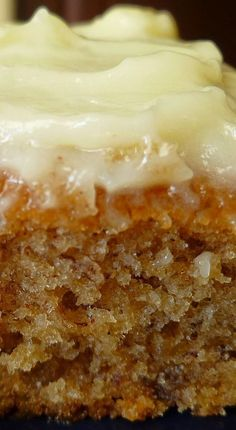 Banana Sheet Cake with Cream Cheese Frosting - made April 2015 from Simply Recipes After my last two baking debacles ( Snickerdoodl. Brownie Desserts, Mini Desserts, Just Desserts, Delicious Desserts, Dessert Recipes, Frosting Recipes, Coconut Dessert, Oreo Dessert, Simply Recipes