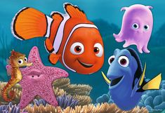 Ravensburger Finding Nemo Jigsaw Puzzle x 12 Piece) Walt Disney Animation, Disney Pixar, Disney Cartoons, Disney And Dreamworks, Animation Movies, Cartoon Girl Drawing, Cartoon Cartoon, Cartoon Drawings, Cartoon Characters