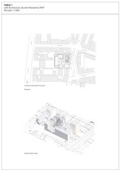 Student Residence in Paris,Site Plan
