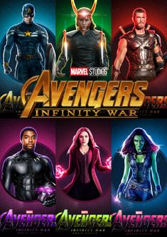 "Avengers ""Infinity War"" Marvel Movie Posters, Marvel Movies, Avengers Infinity War, Movie Tv, Photo Wall, Photograph"
