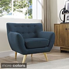Corvus Walnut and Black Mid Century Bentwood Accent Chair (Bonded ...
