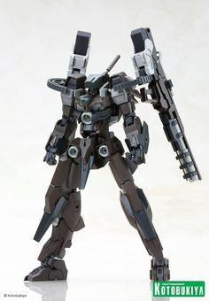 Frame Arms - YSX-24c Baselard Gun Battle set on release January 2014. I for one love robots with guns,  so I'll keep an eye on this one.
