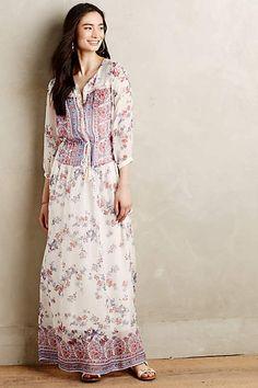 Sestina Silk Maxi Dress - #anthrofave