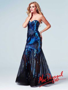 Cassandra Stone by Mac Duggal Style 85089A now in stock at Bri'Zan Couture, www.brizancouture.com