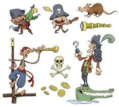 Pirates - Aaron Blecha Illustration