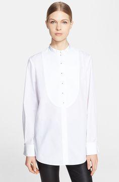 Alexander McQueen Cotton Poplin Blouse