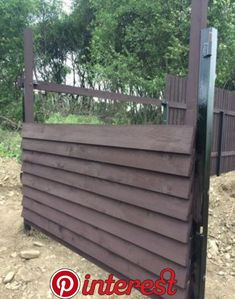 I don't know where, but I'd like to incorporate this look somewhere Diy Privacy Fence, Privacy Fence Designs, Patio Fence, Patio Wall, Backyard Fences, Garden Fencing, Backyard Landscaping, Wooden Gazebo, Outdoor Projects