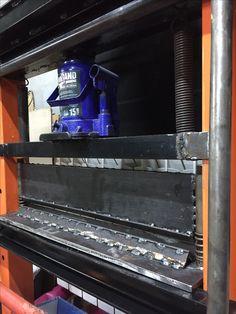Metal shaping tools Гибочный станок Metal Bending Tools, Metal Tools, Metal Shaping, Press Brake, Garage Tools, Homemade Tools, Iron Work, Welding Projects, Metal Wall Art
