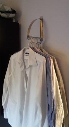 Bracket as clothes hanger