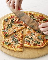 My favorite pizza, hands down! Margherita Pizza! This recipe is so simple and yummy! Food & Wine.com, by Grace Parisi