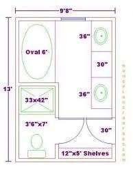 Image Result For 10x12 Master Bath Closet No Tub Bathroom Floor Plans Bathroom Plans Master Bathroom Plans