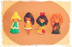 #princess#Merida#Pocahontas #SnowWhite #Cinderella#Hanging @Minicosas