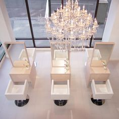 One of our beauty salon & spa design... Because it's much more fun to get #beautified in a beautiful environment! #beautysalon #fashionableliving #pamperyourself #seyiedesign #celebrity #fashionableliving #interiorbranding #consumerexperience #retailconcept #luxuryliving #beauty #hollywoodlife #neihule #beverlyhills #dtla #interiors #fashionmeetsfunction #hairsalon #dayspadesign #glamour #beautyblogger